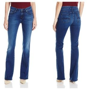7 For All Mankind Kimmie Bootcut Vintage Sateen 25